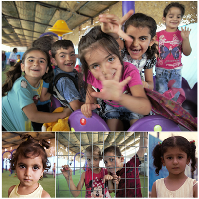 Oboz uchodzcow wErbil polnocny Irak