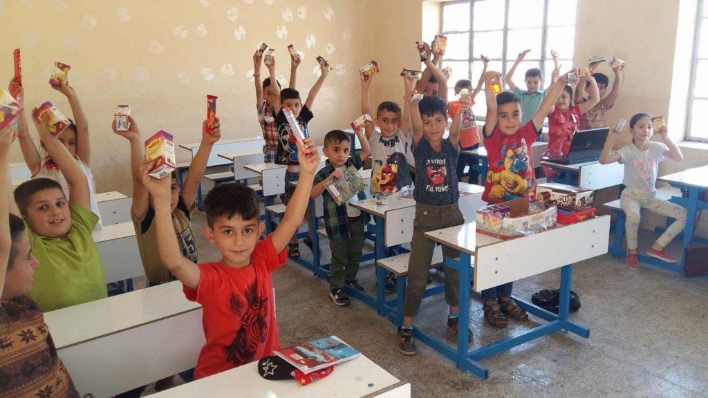 lekcja w OurBridge, Khanke, Irak, 2018.jpg